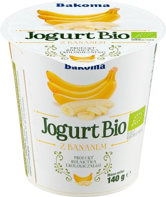 Bakoma Jogurt Bio z bananem