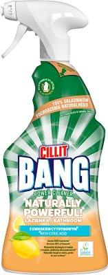 Cillit Bang Naturally Powerful  Spray do łazienki
