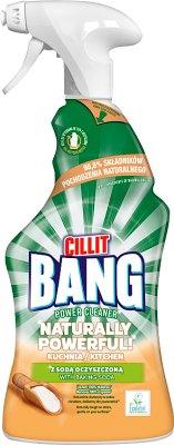 Cillit Bang Naturally Powerful  Spray do kuchni