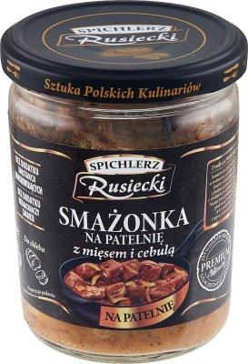 Spichlerz Rusiecki Smażonka na  patelnię z mięsem i cebulą