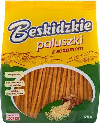 Aksam Beskidzkie Paluszki z sezamem