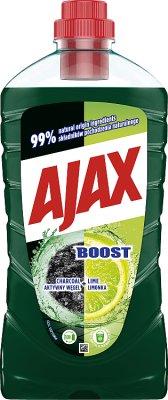 Ajax Boost Płyn aktywny węgiel  i limonka
