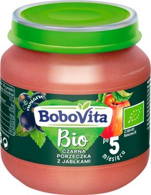 BoboVita BIO deserek czarna porzeczka z jabłkami