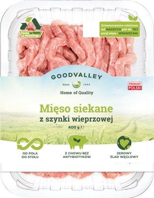 Goodvalley Mięso siekane z szynki wieprzowej z hodowli bez użycia antybiotyków