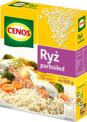Cenos Ryż parboiled 4x100g