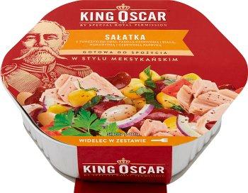 King Oscar Sałatka gotowa  do spożycia w stylu meksykańskim