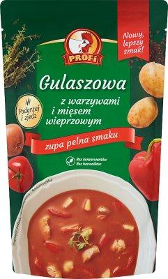 Profi Gulaszowa z warzywami  i mięsem wieprzowym