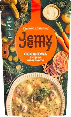Profi Ogórkowa z mięsem wieprzowym