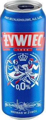 Żywiec Piwo jasne bezalkoholowe  0,0%
