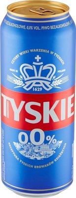Tyskie Piwo bezalkoholowe 0,0%