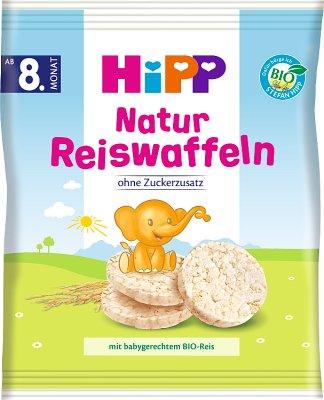 HiPP Wafelki ryżowe - naturalne BIO