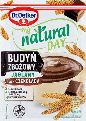 Dr. Oetker My Natural Day  Budyń  zbożowy jaglany smak czekolada