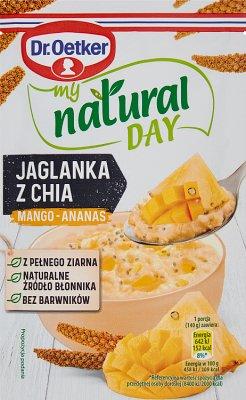 Dr. Oetker My Natural Day Jaglanka  z chia mango-ananas