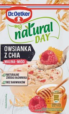 Dr. Oetker My Natural Day Owsianka  z chia  malina-miód