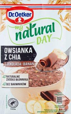 Dr. Oetker My Natural Day Owsianka  z chia czekolada-banan