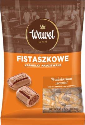 Wawel Fistaszkowe Karmelki nadziewane