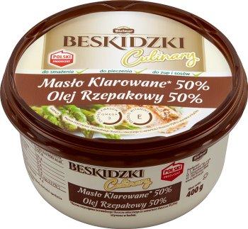 Bielmar Beskidzki Masło klarowane  z olejem rzepakowym