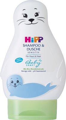 HiPP Żel - Foczka do mycia ciała i włosów
