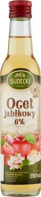 SUDECKI Ocet Jabłkowy 6%