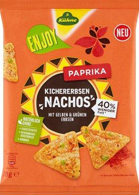 Kühne Nachos Papryka z ciecierzycy i groszku