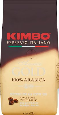 Kimbo Aroma Gold 100% Arabica Kawa ziarnista