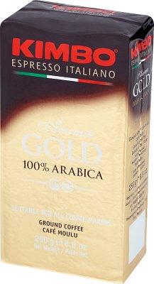 Kimbo Aroma Gold 100% Arabica Kawa mielona
