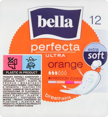 Bella podpaski perfecta ultra  orange