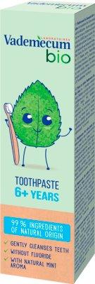 Vademecum Bio pasta do zębów dla  dzieci 6+ lat, miętowa