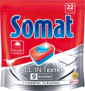 Somat All in 1 Extra tabletki do  zmywarki