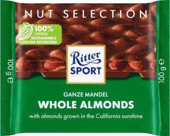 Ritter Sport Czekolada mleczna z  całymi migdałami