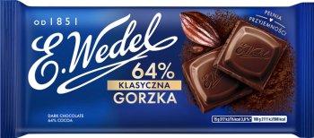 Wedel czekolada klasyczna gorzka 64%