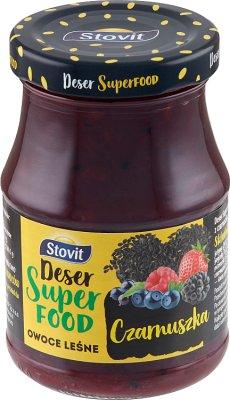 Stovit Deser Superfood owoce leśne z czarnuszką