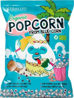 Popcrop Popcorn z niebieskiej kukurydzy Bezglutenowy BIO
