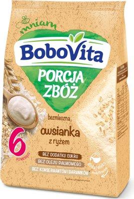 BoboVita Porcja Zbóż bezmleczna owsianka z ryżem