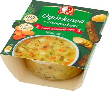 Profi Ogórkowa z ziemniakami