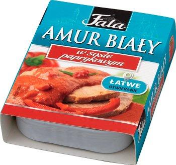 Fala Amur Biały w sosie paprykowym
