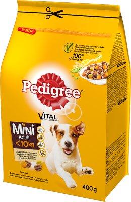 Pedigree sucha karma pełnoporcjowa dla dorosłych psów z kurczakiem i warzywami