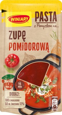 Winiary Pasta z Pomysłem na zupę pomidorową