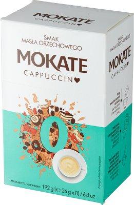 Mokate Cappuccino o smaku masła orzechowego