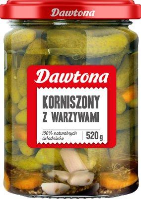 Dawtona Korniszony z warzywami