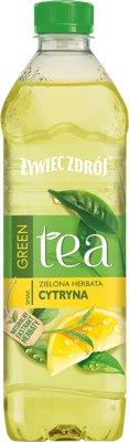 Żywiec Zdrój napój herbaciany  niegazowany z ekstraktem z zielonej herbaty o smaku cytryny