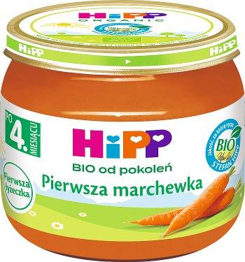 HiPP Pierwsza marchewka BIO Pierwsza Łyżeczka