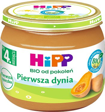 HiPP Pierwsza dynia BIO Pierwsza Łyżeczka