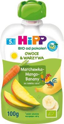 HiPPiS Marchewka-Mango-Banany BIO