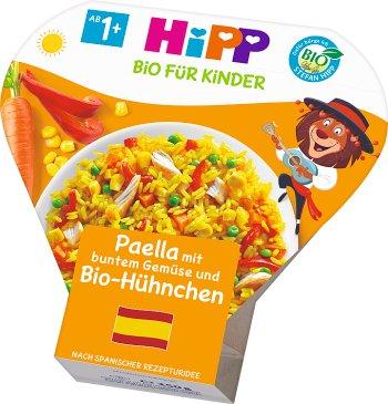 HiPP Paella z kolorowymi warzywami i kurczakiem BIO