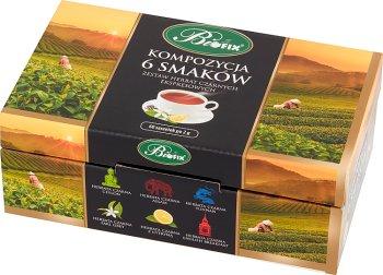 Bifix Zestaw herbat czarnych ekspresowych kompozycja 6 smaków