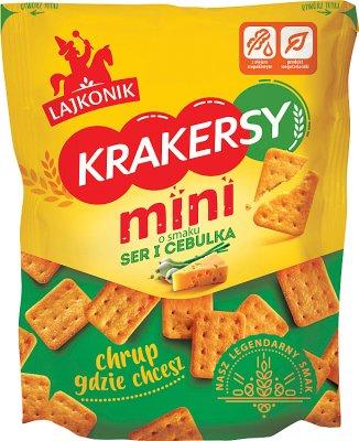 Lajkonik Krakersy mini ser i  cebulka