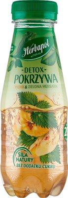 Herbapol detox pokrzywa napój  owocowo-ziołowy o smaku pigwy