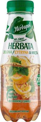 Herbapol na zimno, herbata zielona cytryna & mięta