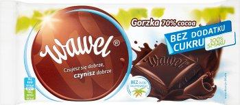 Wawel czekolada gorzka 70% bez dodatku cukru